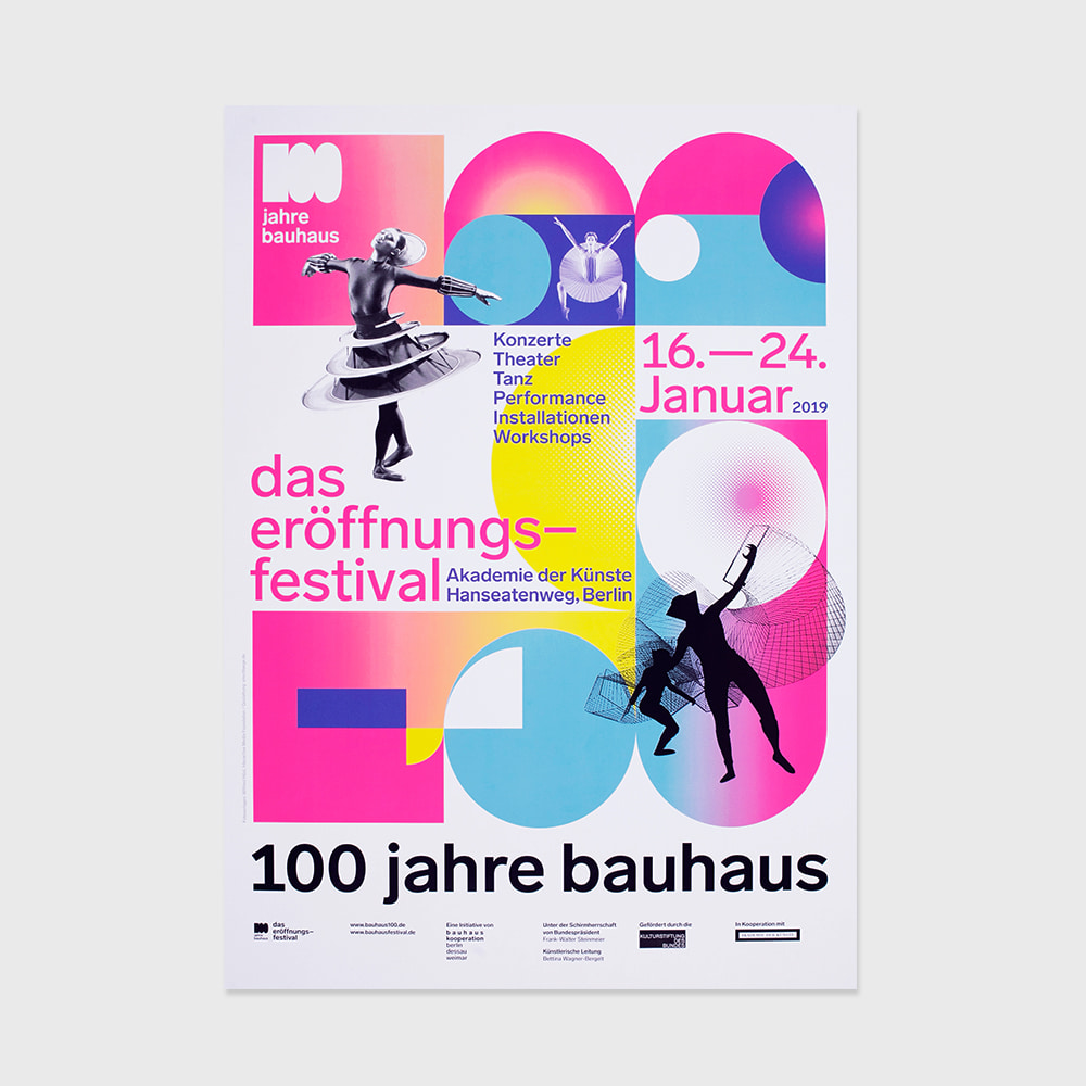 [CENTENARY] Bauhaus 100 Years The Opening Festival (2019)