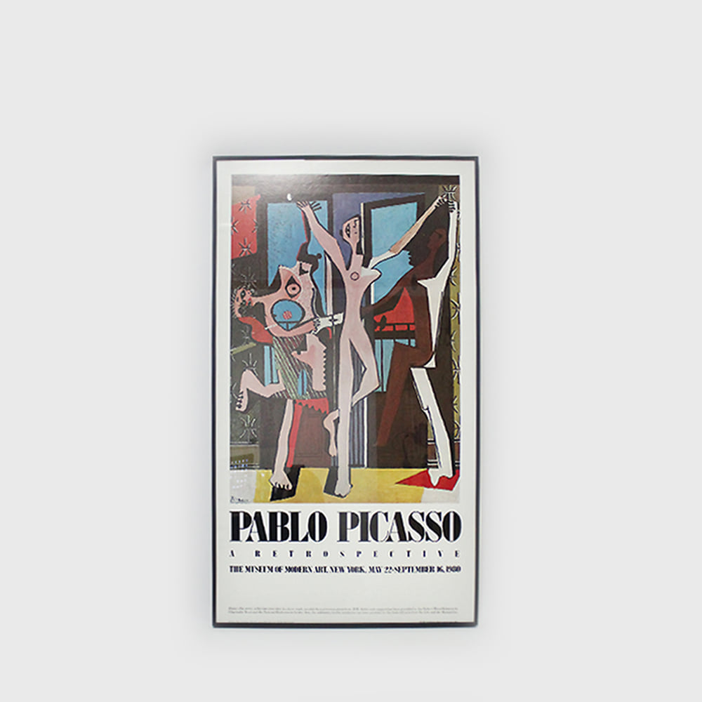 Pablo Picasso MoMA Exhibit Poster 1980-The Dance