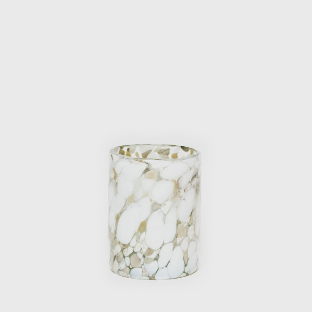 Blossom Marble Glass - White [New]