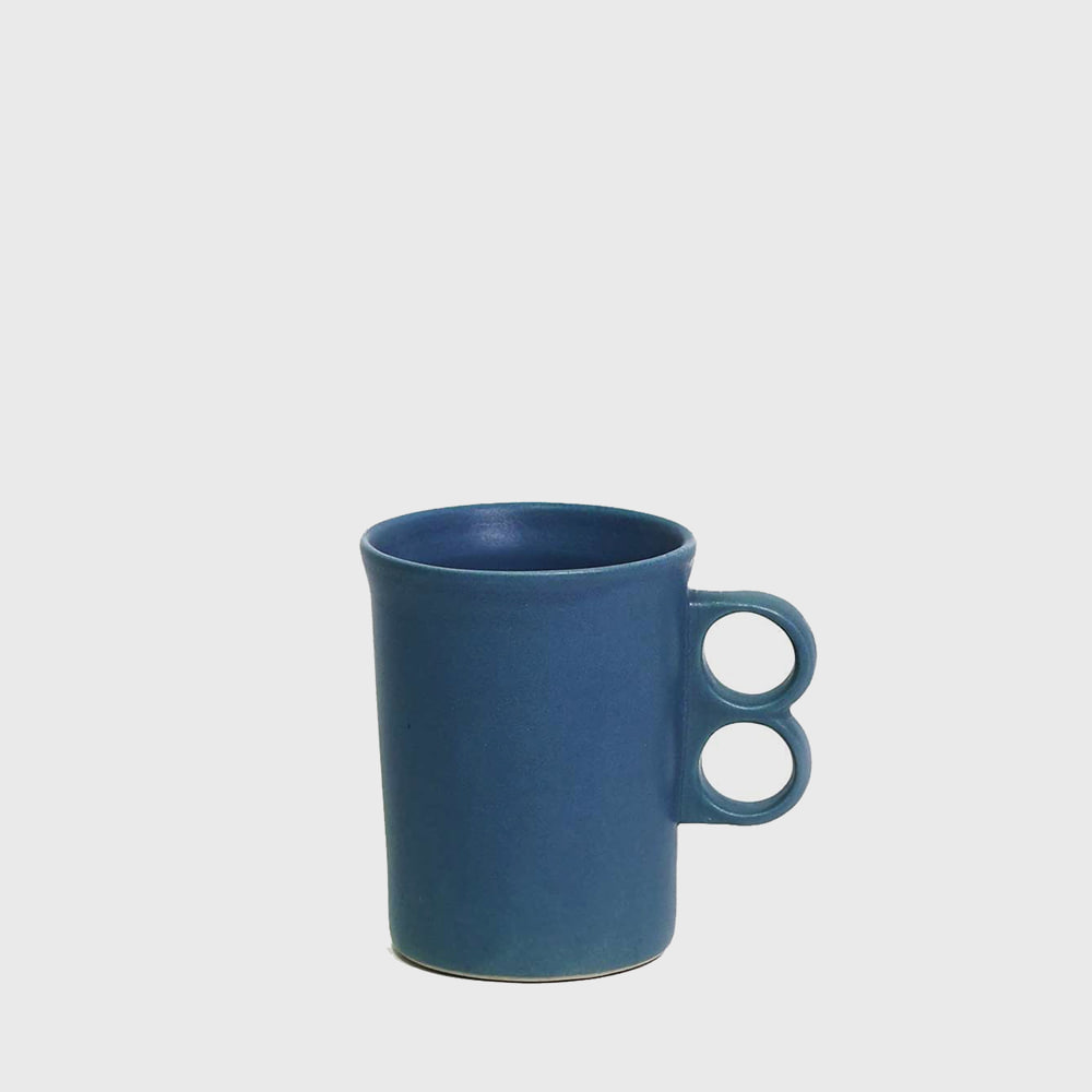 Bennington Potters Elements Blue Trigger Mug 1340 [new]