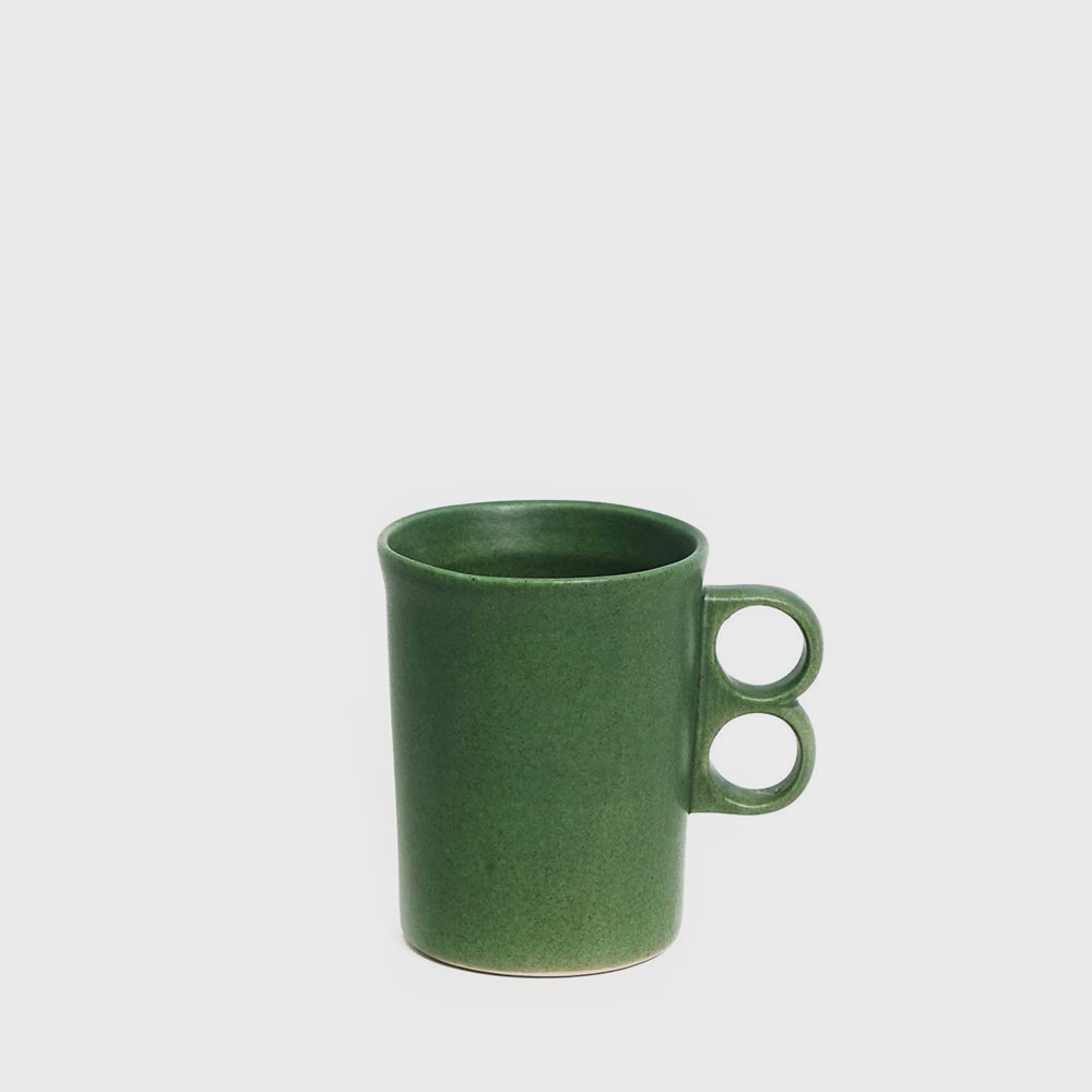 Bennington Potters Elements Green Trigger Mug 1340  [new]