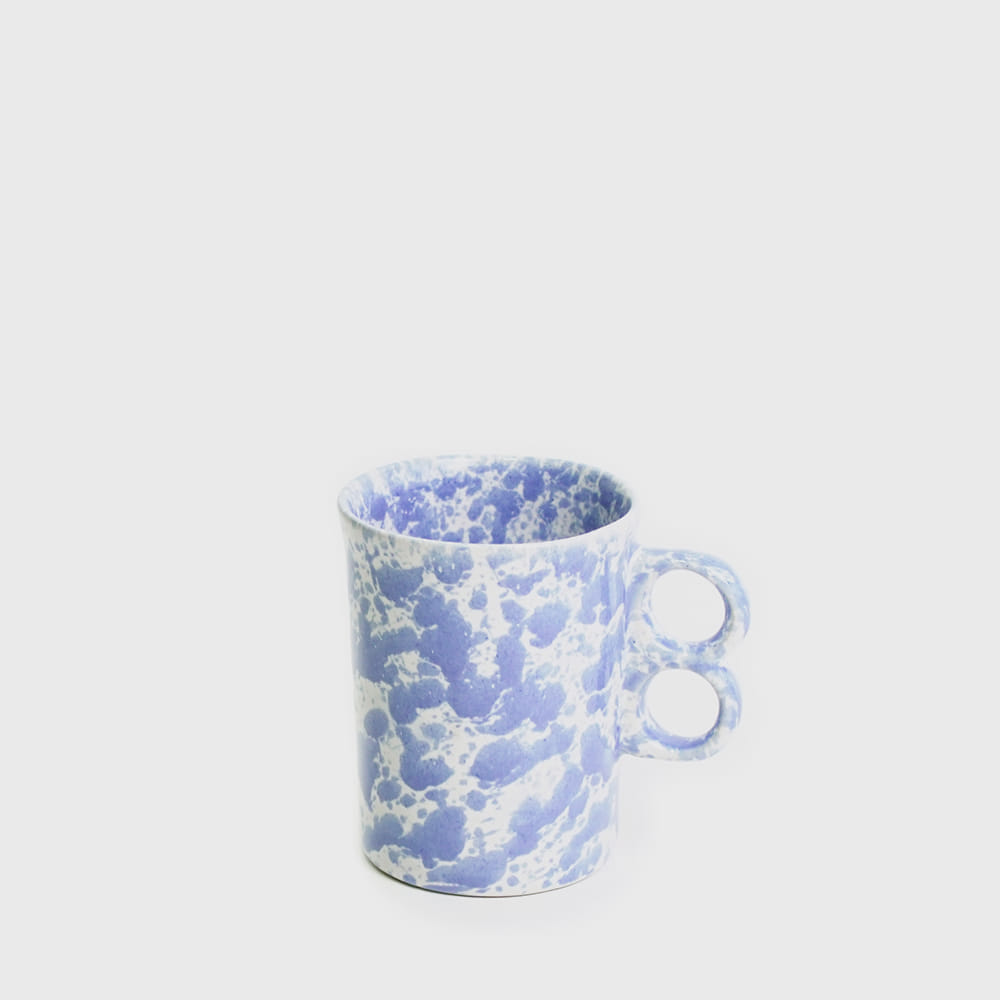 Bennington Potters Morning Glory Blue Trigger Stoneware Mug 1340 [new]