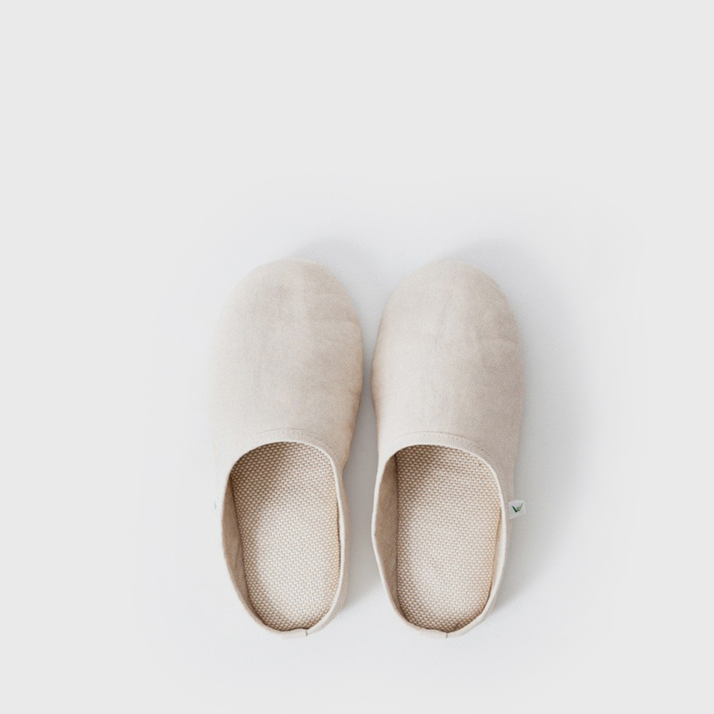 SASAWASHI ROOM SHOES - Beige