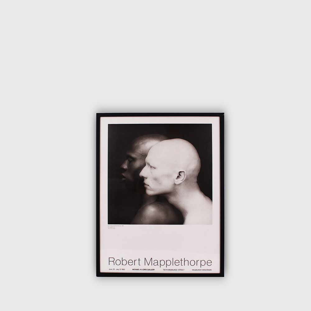 Robert Mapplethorpe : KEN MOODY & ROBERT SHERMAN Original Exhibition POSTER