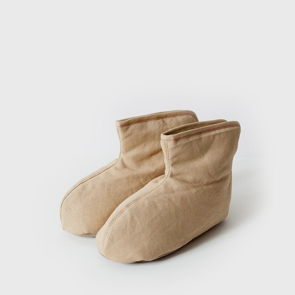 SASAWASHI ROOM BOOT - Camel