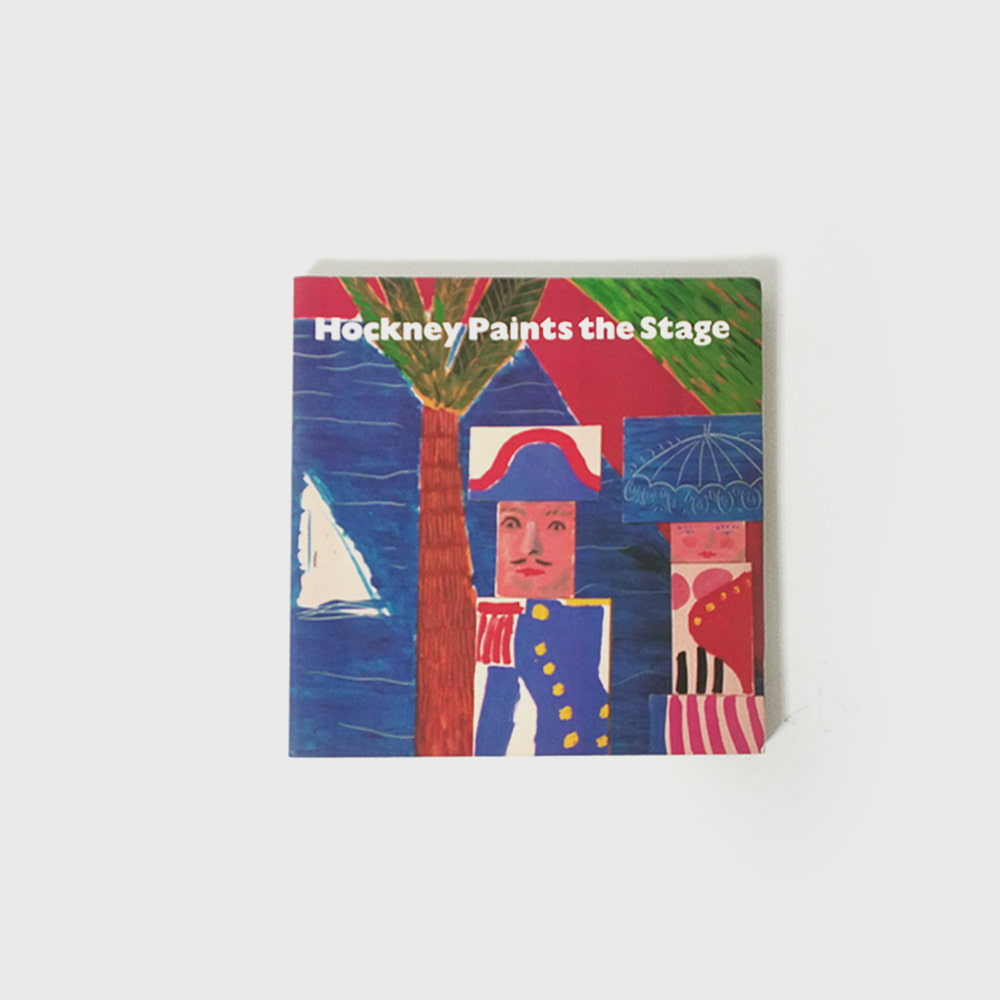 David Hockney : Hockney Paints the Stage Ist Edition (Soft Cover) 1983