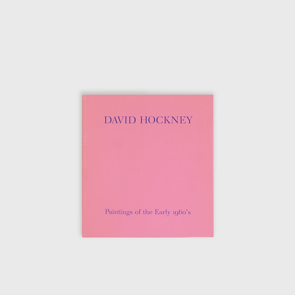 David Hockney :Paintings of early 1960's Exhibition catalog 1985