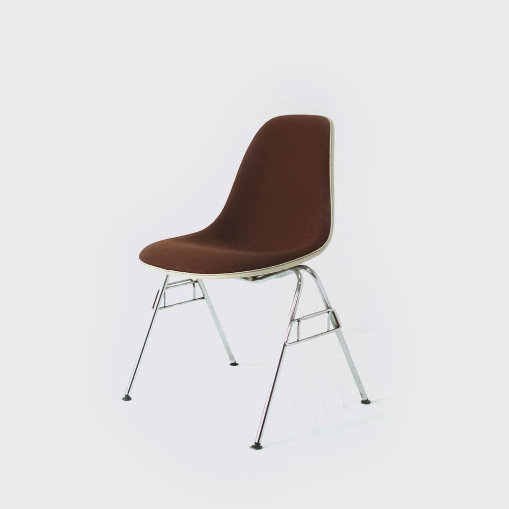 Herman Miller by Charles & Ray Eames Vitra Girard Fabric DSS Shell Chair