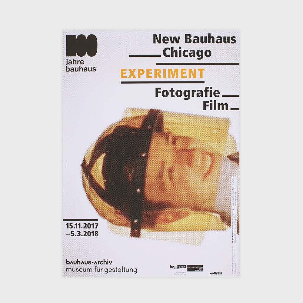 [CENTENARY] Bauhaus Chicago:Experiment Photo And Film (2017)