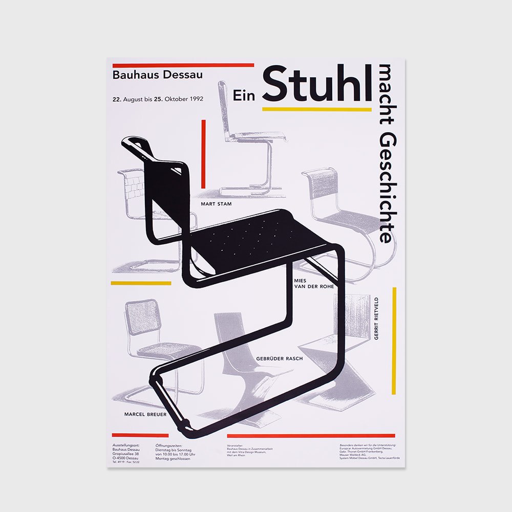 [FURNITURE] Bauhaus A chair makes history (1992)