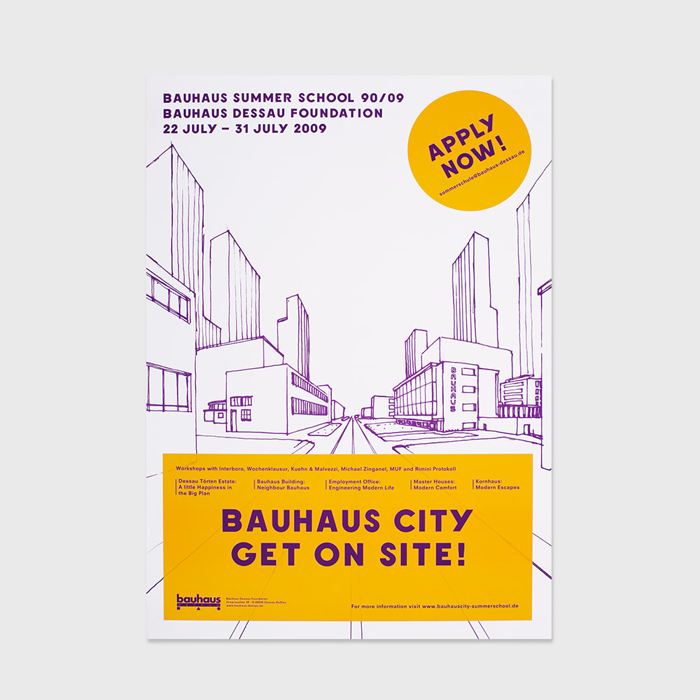 [SEMINAR] Bauhaus city get on site 90th Anniversary(2009)