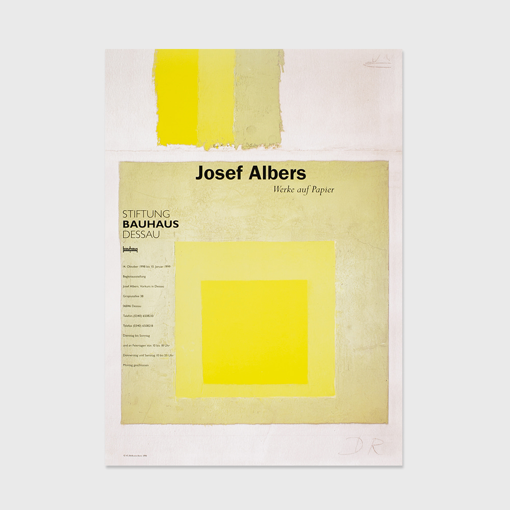 [COLOR&PATTERN] Bauhaus Josef Albers 'works on paper'(1999)