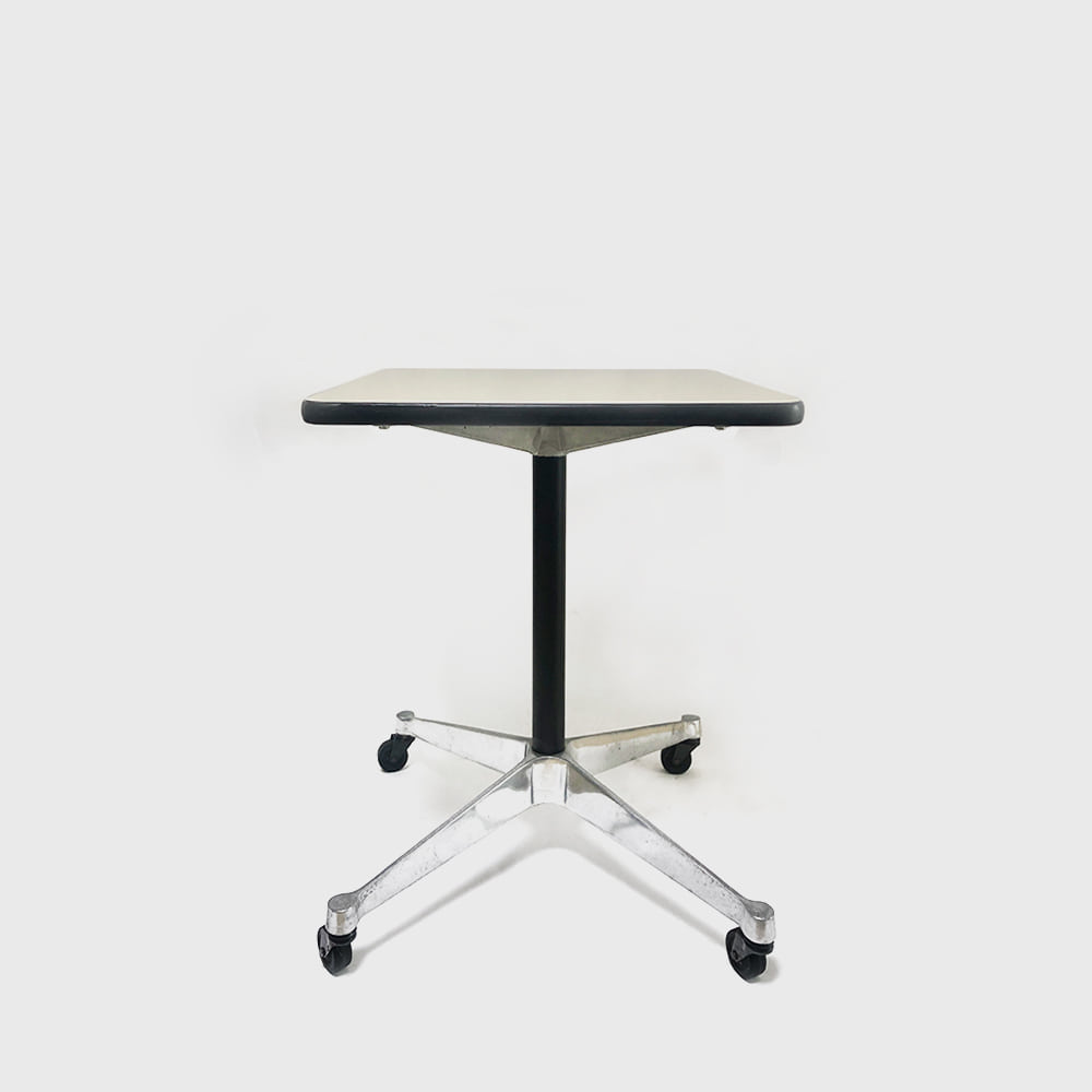 Herman Miller Aluminum Group Rolling Side Table