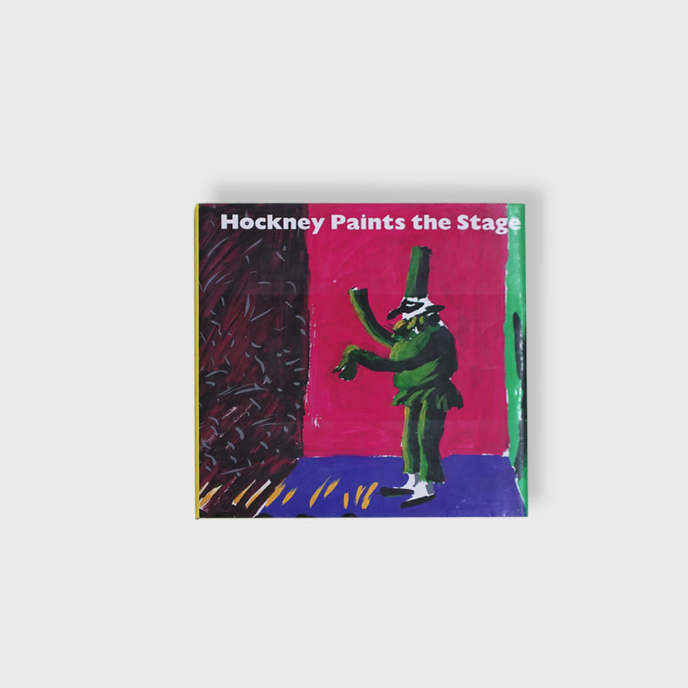 David Hockney : Hockney Paints the Stage Ist Edition (Hard Cover) 1983