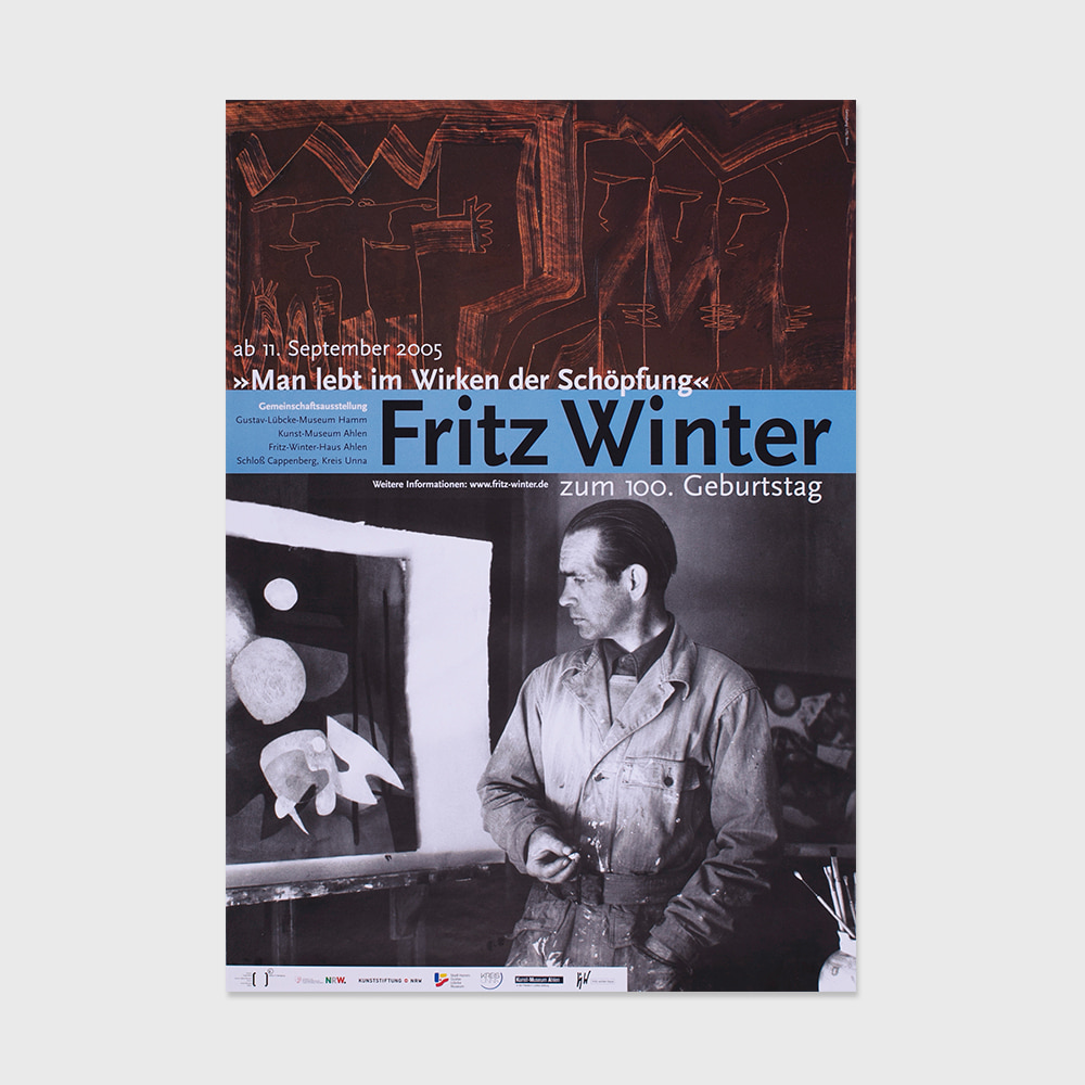 [DESIGN] Bauhaus Fritz Winter for the 100th birthday (2005)